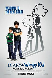 <i>Diary of a Wimpy Kid: Rodrick Rules</i> (film) 2011 film by David Bowers