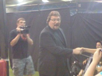 Ted DiBiase - DiBiase making an appearance at a local indy show on August 20, 2011.