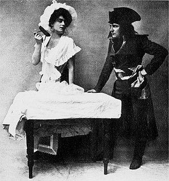 The Duchess of Dantzic - Evie Greene and Holbrook Blinn, Act I