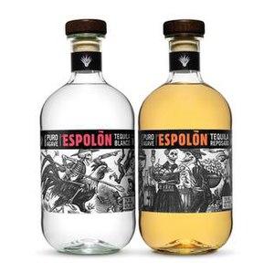 Espolon - Image: ESPOLON, blanco and reposado
