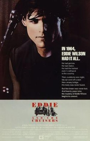 Eddie and the Cruisers - Theatrical release poster.