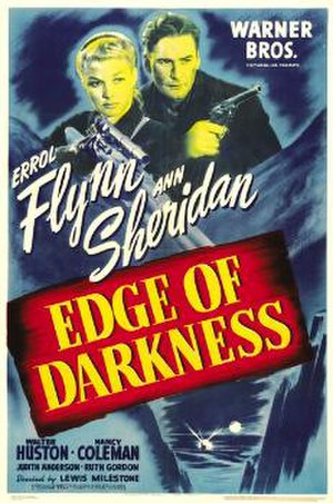 Edge of Darkness (1943 film) - Theatrical release poster