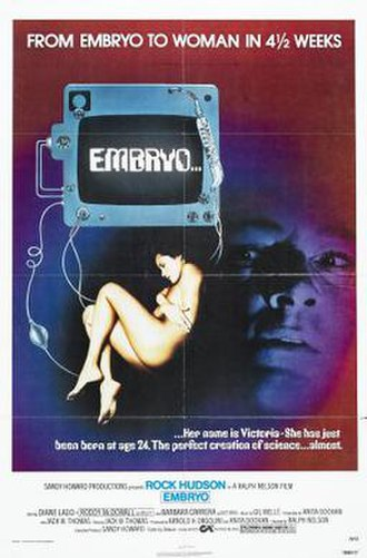 Embryo (1976 film) - Image: Embryo Film Poster