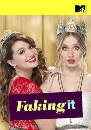 Faking It (season 1) - Promotional poster and DVD cover art