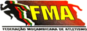 Mozambican Athletics Federation - Image: Federaçao Moçambicana de Atletismo logo