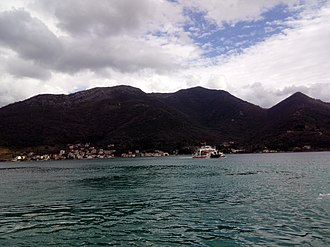 Tivat - Ferry at Lepetane.