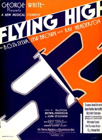 Flying High (musical) - Sheet music cover (cropped)