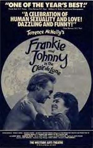 Frankie and Johnny in the Clair de Lune - Poster for the off-Broadway production