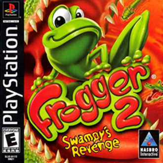Frogger 2: Swampy's Revenge - North American PlayStation cover art