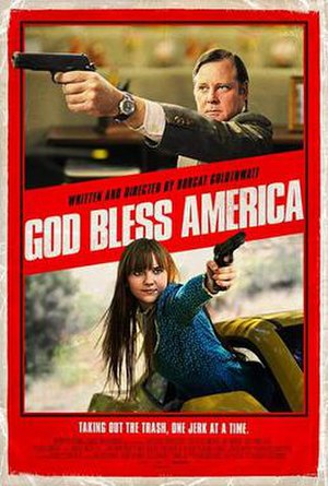 God Bless America (film) - Promotional poster