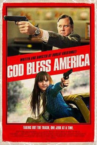 God Bless America (film) - Promotional poster