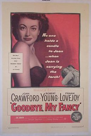 Goodbye, My Fancy - Original theatrical poster