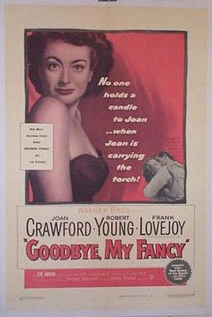Goodbye, My Fancy - Original theatrical poster