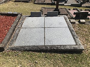 John Bradfield (engineer) - Graves of John and Maria Bradfield at St Johns Anglican Church, Gordon