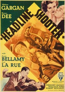 <i>Headline Shooter</i> 1933 film directed by Otto Brower