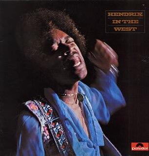 <i>Hendrix in the West</i> 1972 live album by Jimi Hendrix