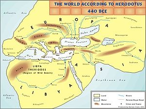 Necho II - The world according to Herodotus, 440 BC