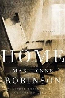 <i>Home</i> (Robinson novel) 2008 novel by Marilynne Robinson