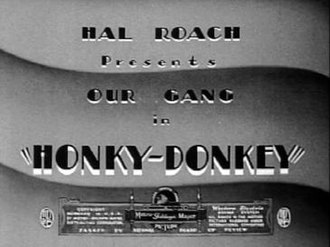 Honky Donkey - Title screen