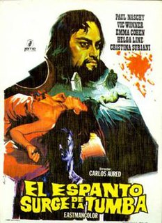 <i>Horror Rises from the Tomb</i> 1972 film by Carlos Aured