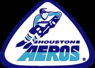 Houston Aeros (WHA) ice hockey team in Houston, Texas