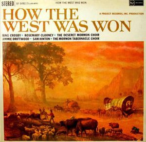 How the West Was Won (Bing Crosby album) - Image: How the West Was Won (Bing Crosby Album) (album cover)