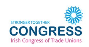 Irish Congress of Trade Unions - Image: Ictu logo small web