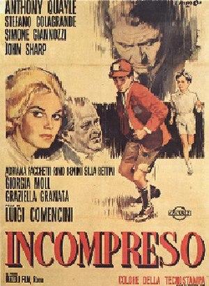 Misunderstood (1966 film) - Film poster