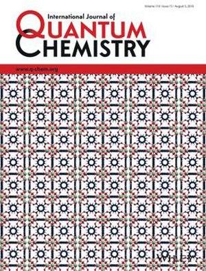 International Journal of Quantum Chemistry - Image: Int J Quant Chem cover