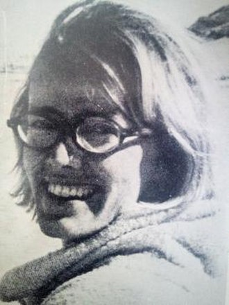 Jane Howard (journalist) - Jane Howard on the back cover of her first book, Please Touch,1970