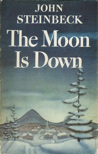 The Moon Is Down - First edition