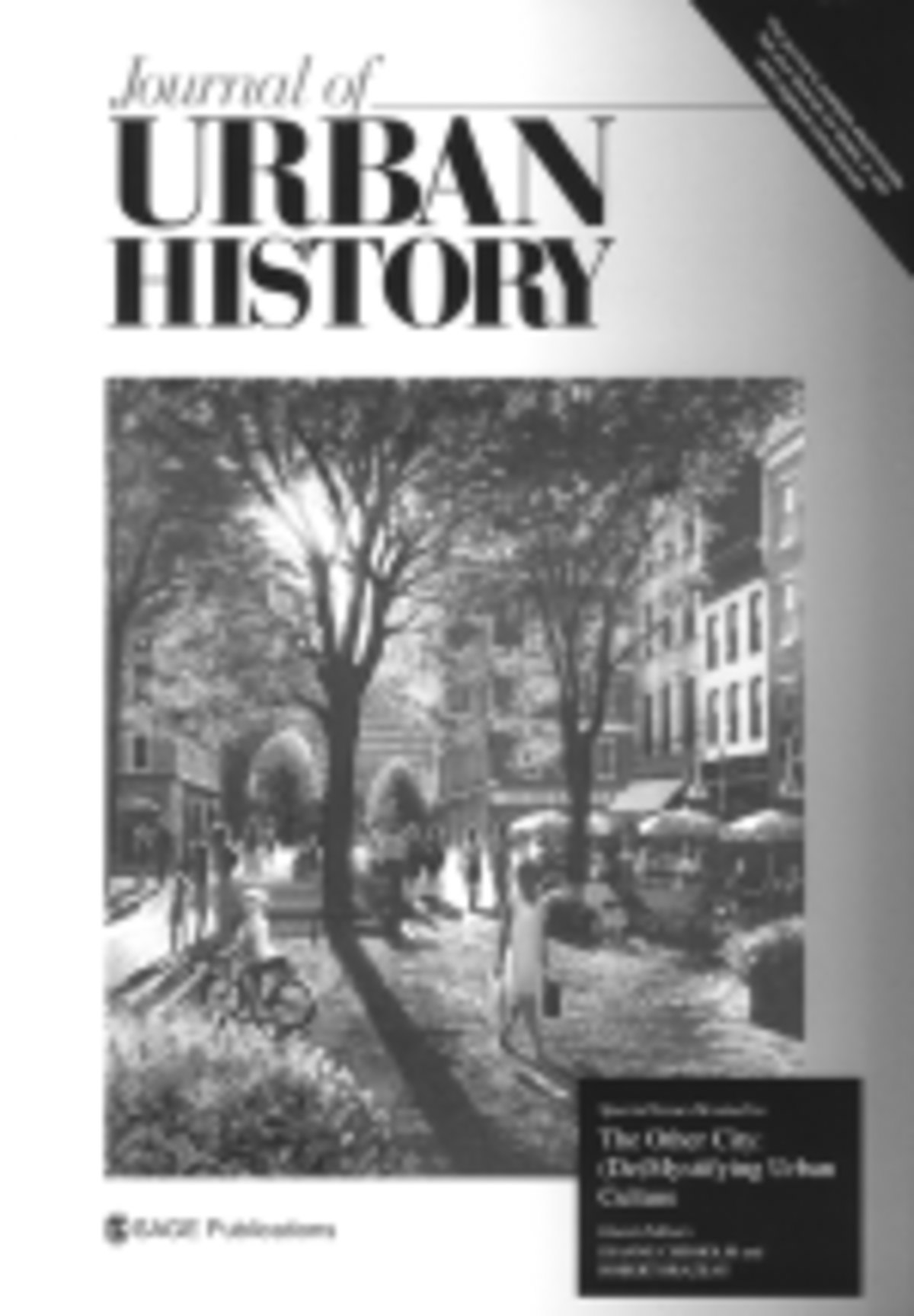 Journal of Urban History - Wikipedia