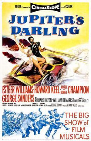 Jupiter's Darling - Film poster