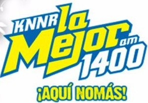 KNNR - Logo as a regional Mexican station from 2013 to 2017