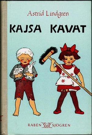 Kajsa Kavat - First edition (publ. Rabén & Sjögren, 1950) Illustrated by Ingrid Vagn-Nyman