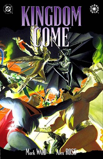 Kingdom Come (comics) - Cover to the original trade paperback edition (1997). Art by Alex Ross.