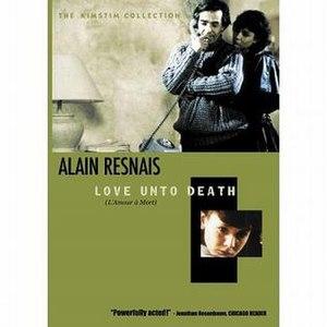 Love Unto Death - DVD cover