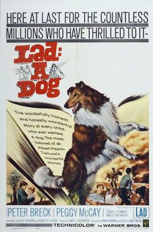 Lad, A Dog (film) - Original theatrical poster