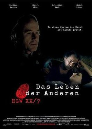 The Lives of Others - Original German-language poster