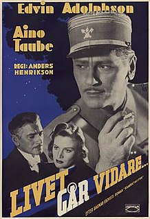 <i>Life Goes On</i> (1941 film) 1941 film by Anders Henrikson