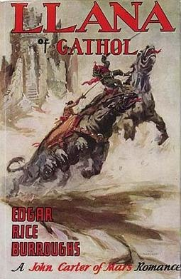 Llana of gathol burroughs cover