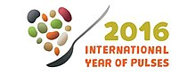 Logo of International Year of Pulses 2016