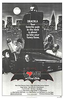 <i>Love at First Bite</i> 1979 film by Stan Dragoti