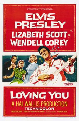 Loving You (1957 film) - Image: Loving you poster