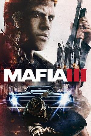 Mafia III - Image: Mafia III cover art