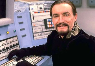 Anthony Ainley - Ainley as the Master in the Doctor Who serial Logopolis (1981)