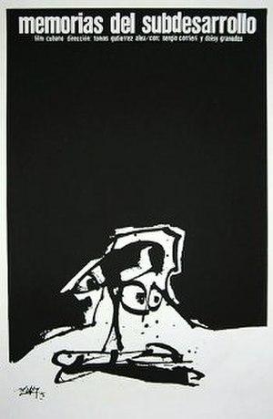 Memories of Underdevelopment - Image: Memorias del Subdesarrollo Poster