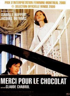<i>Merci pour le Chocolat</i> 2000 film by Claude Chabrol