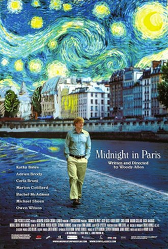 Midnight in Paris - Theatrical release poster