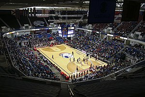 Mitchell Center - Mitchell Center during USA Jaguars basketball game